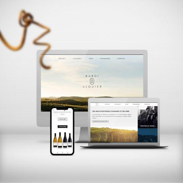 création site internet Bardi d'Alquier
