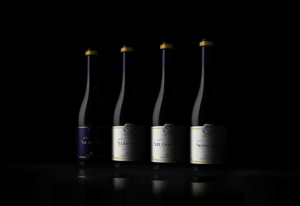 shooting produit bouteille vin