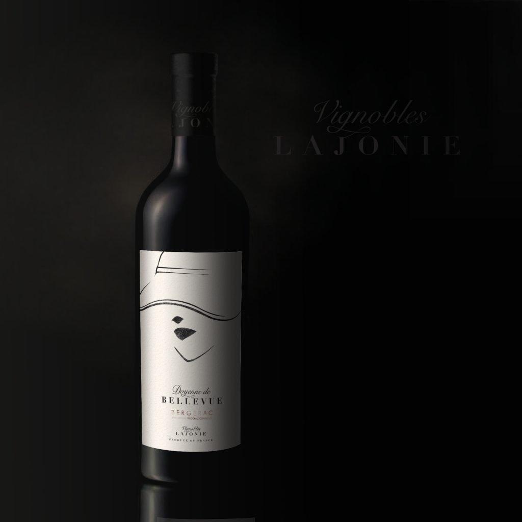 Création étiquette Vignobles Lajonie